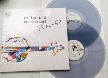 Midge Ure - Orchestrated (2018 Clear Vinyl - Hand Signed)